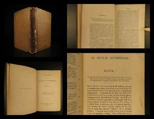 1851 Popular Occult Superstitions GHOSTS Vampirism