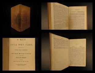 1853 1ed Key to Uncle Tom's Cabin Harriet Beecher Stowe