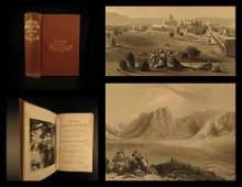 1867 1ed HOLY LAND Illustrated Bible Jerusalem Egypt