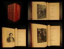 1887 Les Misérables by Victor Hugo French Literature