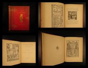 1891 1st ed Pentateuch of Printing Press & English