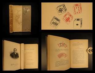 1892 POKER 1st ed Gentlemen's Handbook on Poker