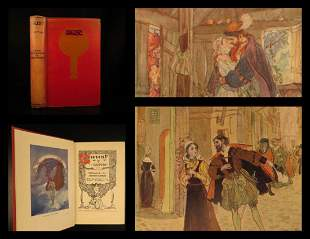 1925 FAUST Goethe POGANY ART Tragedy Devils Esoteric