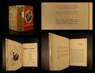 1941 Adolf Hitler MEIN KAMPF World War II Nazi Germany
