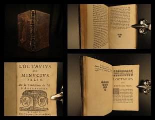 1664 Octavius by Minucius Felix Roman Paganism v Christ
