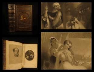 1858 EXQUISITE Thomas Moore Irish Poems Ireland