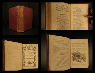 1862 Ingoldsby Legends Occult Esoteric Ghosts FAMOUS