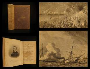 1867 1st ed American NAVY Officers Illustrated Farragut