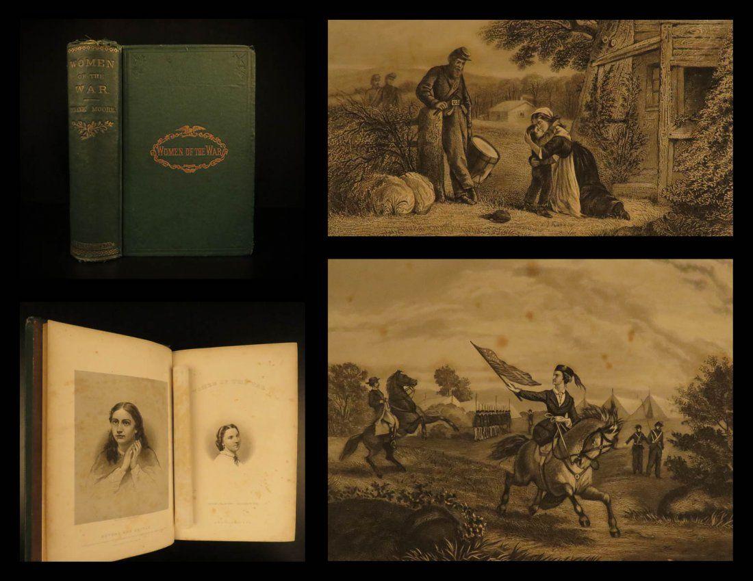 1867 Women of the Civil War Gettysburg Military Robert