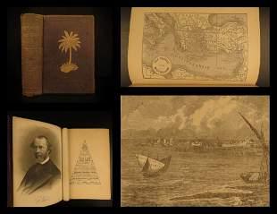 1879 Freemasonry in Holy Land Voyages Masonic Poetry