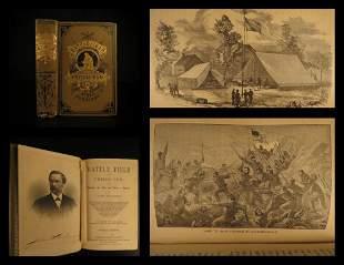 1882 1ed Civil War Battlefield & Prison Pen CSA Robert