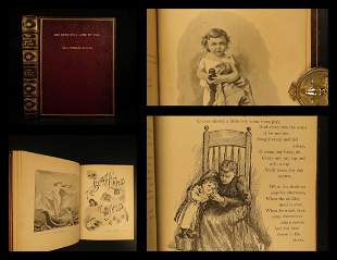 1892 FINE BINDING Fairy Tale Beautiful Land of Nod