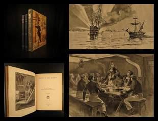 1886 American NAVY Heroes John Paul Jones Somers