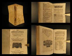 1675 RARE Universal Geography FRANCE French Cities