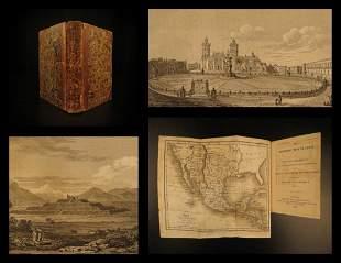 1825 1ed Traveler Mexico Guatemala History Revolution
