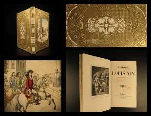 1849 BEAUTIFUL BINDING Louis XIV France French