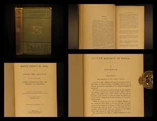 1884 1ed OCCULT Sciences in INDIA Mysticism Spiritism