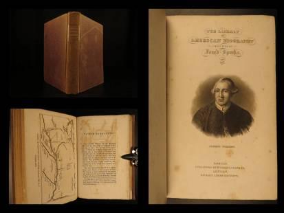 1838 1ed LIVES of Robert Fulton Henry Hudson Father