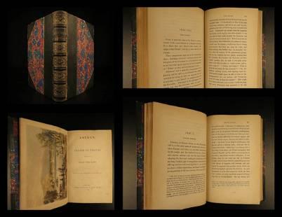 1844 1ed Eothen Travel in Ottoman Empire Egypt Syria