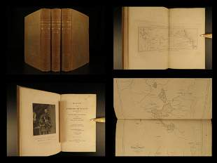 1847 Conquest of Mexico Aztec Illustrated Hernando