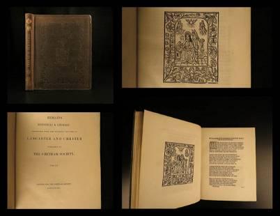 1848 Holy Lyfe of Princess Saint Werburge Old English
