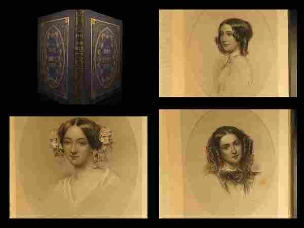 1852 1st ed Book of Home Beauty Americana Kirkland