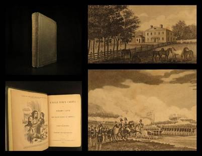 1852 Uncle Tom's Cabin Beecher Stowe Anti Slavery