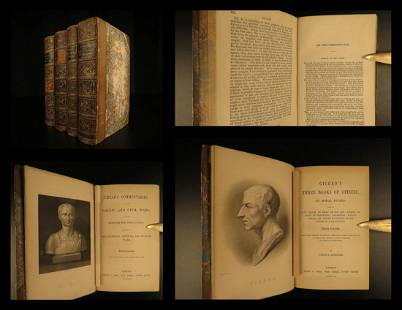 1853 CLASSICAL Cicero Suetonius Julius Caesar Classic