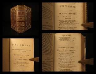 1854 BEAUTIFUL Baptist Church Hymnal Hymns Songs Psalm