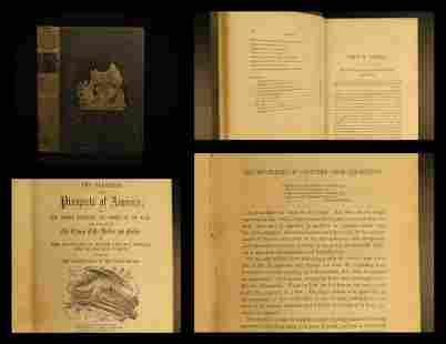 1855 1ed Progress of America Rome Sparta Politics