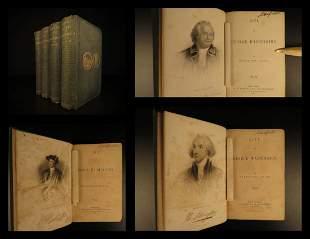1856 Life of George Washington by Washington Irving