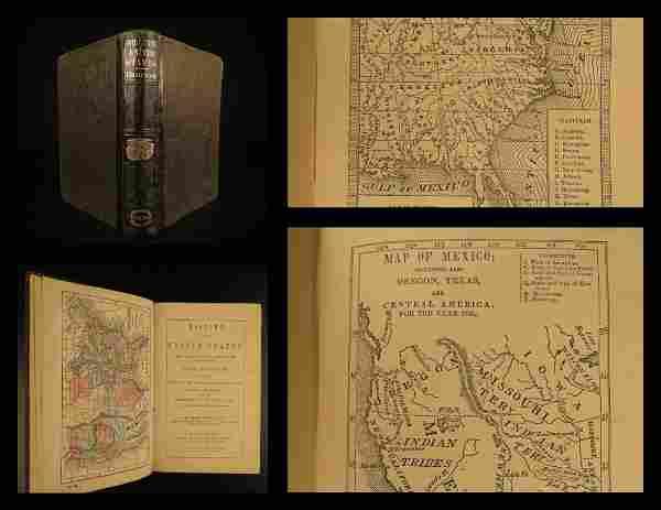 1864 American History INDIANS Mexico TEXAS Revolution