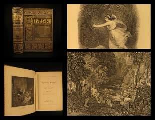 1880 John Milton Paradise Lost Mitford Sonnet