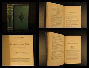 1882 GHOSTS Footfalls of Another World Spiritualism
