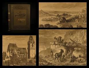 1883 Rhine Danube Architecture Cathedrals Landscapes