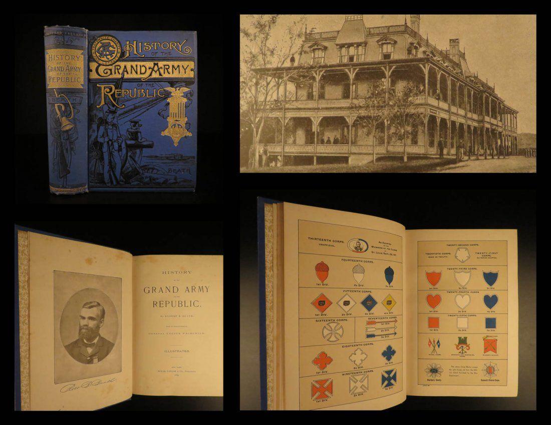 1889 Grand Army of Republic Union Civil War Veterans