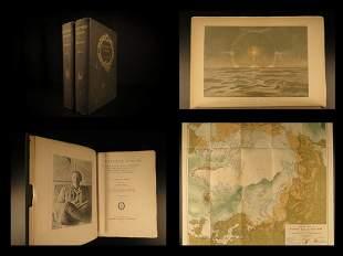 1897 ARCTIC 1ed Farthest North Nansen Polar Eskimo