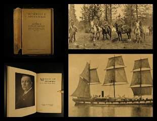 1924 Conan Doyle Autobiography Voyages Sherlock Holmes