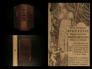 1631 Saint Augustine of Hippo Meditations Soliloquies