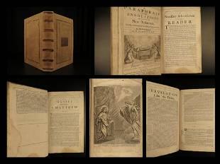 1681 English New Testament BIBLE Hammond Annotations