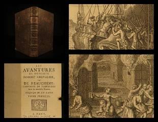 1732 1ed Pirate Captain Canada Adventures of Robert C.