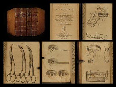 1787 System of SURGERY Benjamin Bell Scottish Medicine