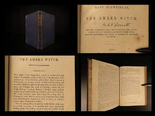 1844 WITCHCRAFT 1st ed Amber Witch Trial Meinhold