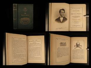 1876 Masonic Odd Fellows Brotherhood Freemasonry