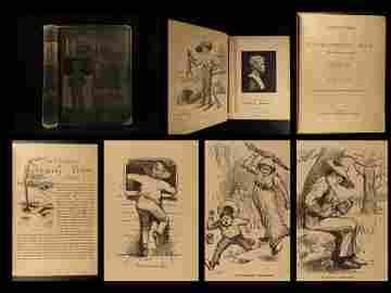 1885 Adventures of Huckleberry Finn Mark Twain 1ed