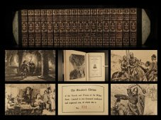 1894 BEAUTIFUL Waverley Novels Sir Walter Scott Rob Roy
