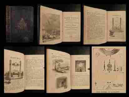 1854 1ed Freemason Master Workman Masonic Symbolism