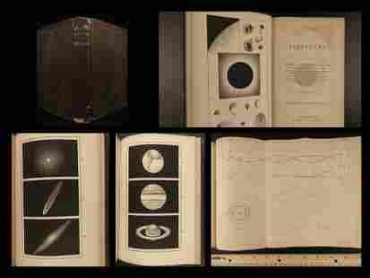 1859 ASTRONOMY Copernicus Planets Telescopes Moon