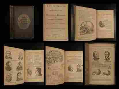 1870 Phrenology & Physiognomy Occult Pseudoscience
