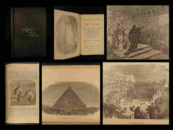 1887 1st ed MORMON Lectures Astrology Pyramids